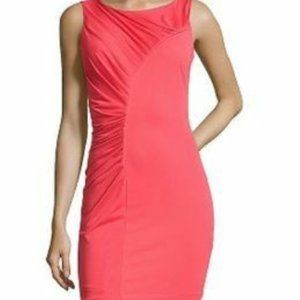 NWT Halston Heritage Poppy Sheath Dress SZ 6